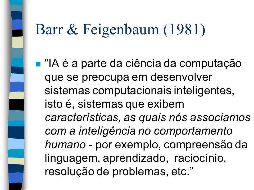 Barr & Feigenbaum (1981)