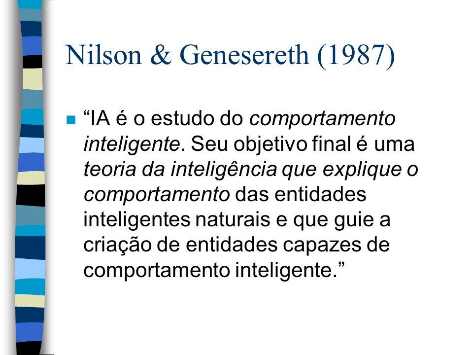 Nilson & Genesereth (1987)