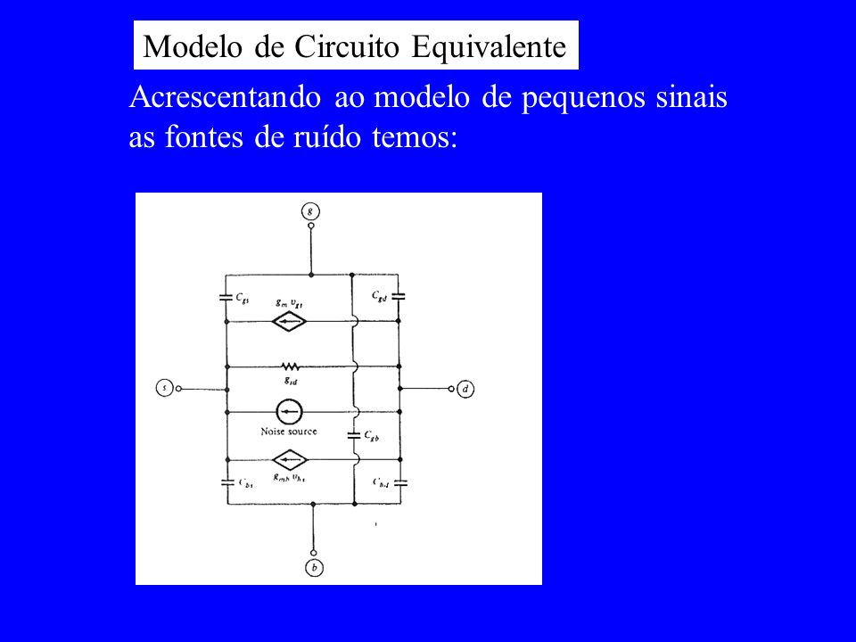Modelo de Circuito Equivalente