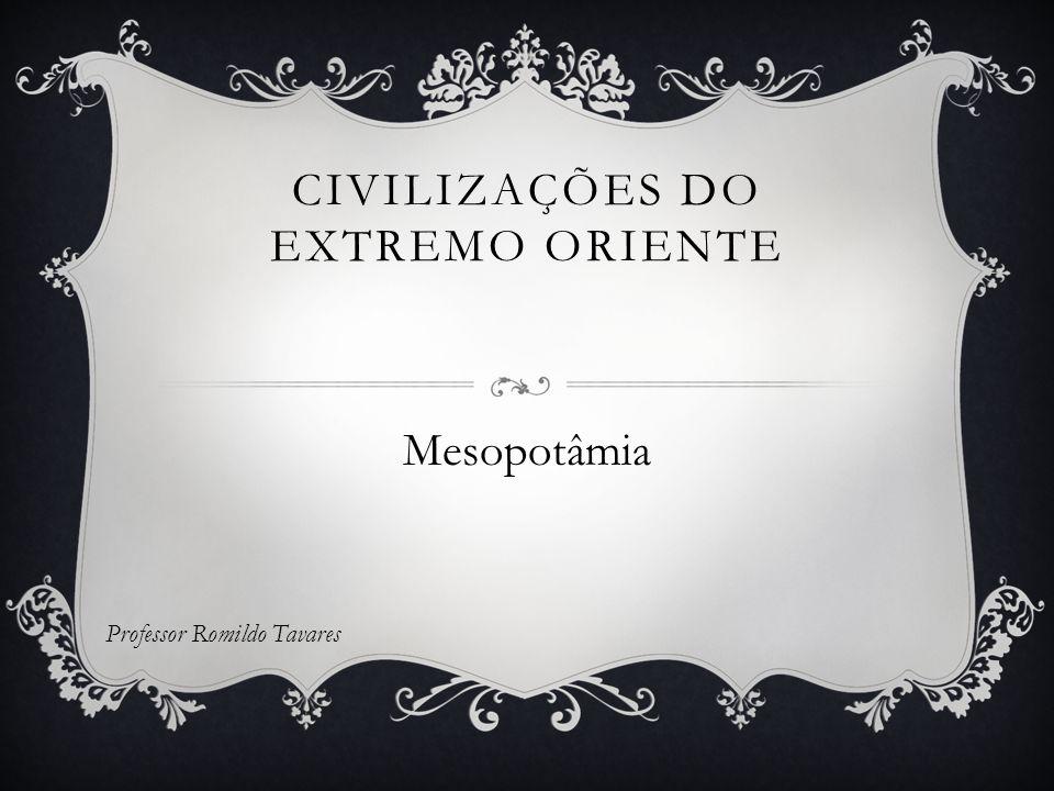 CIVILIZAÇÕES DO EXTREMO ORIENTE