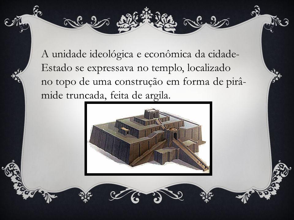 A unidade ideológica e econômica da cidade-