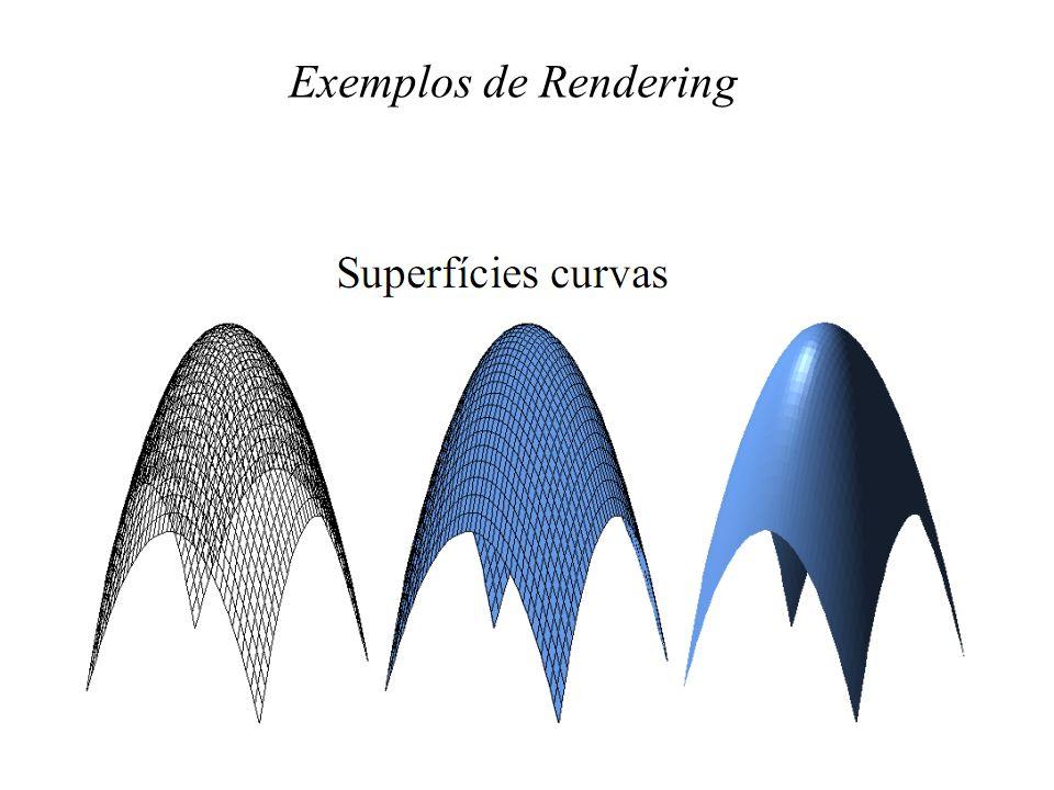 Exemplos de Rendering