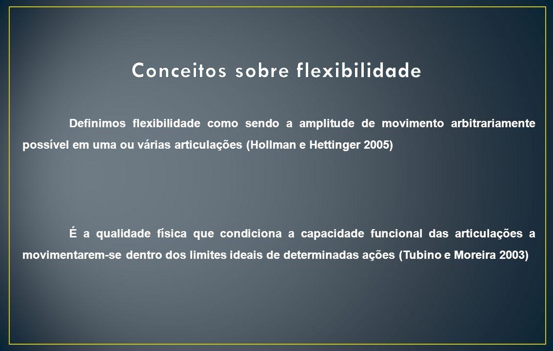 Conceitos sobre flexibilidade