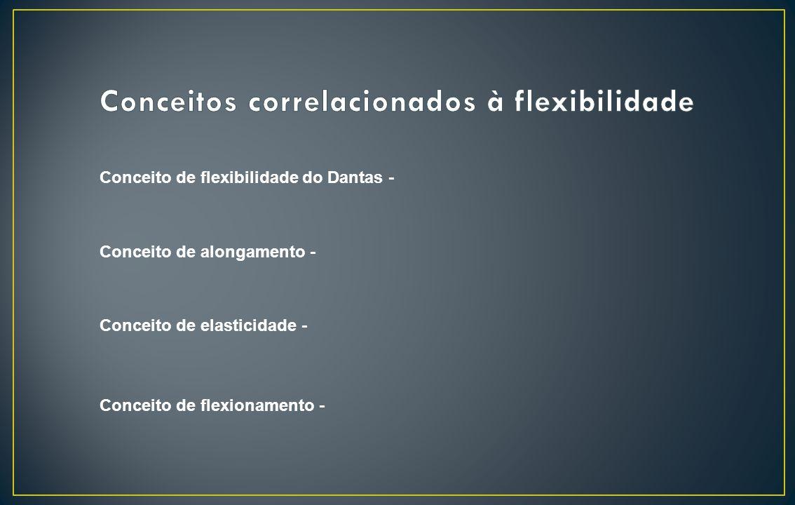 Conceitos correlacionados à flexibilidade