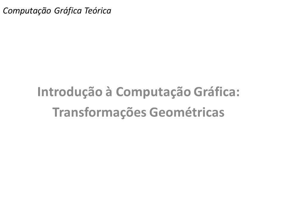 Computação Gráfica Teórica