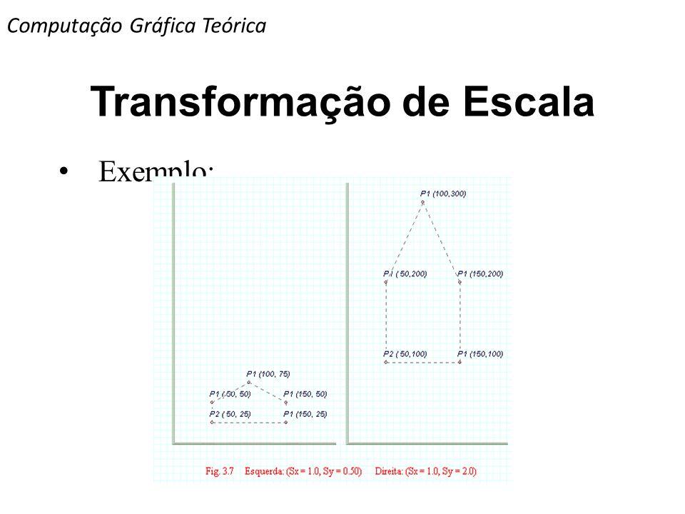 Transformação de Escala