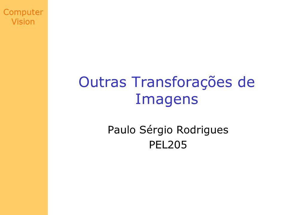 Outras Transforações de Imagens