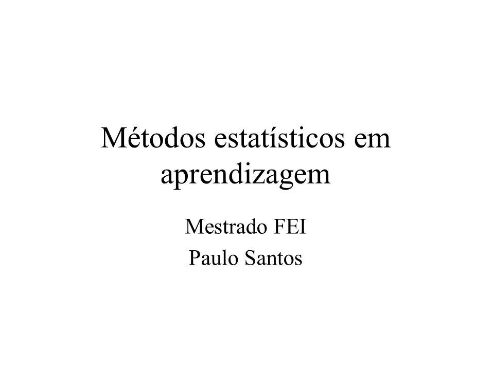 Métodos estatísticos em aprendizagem