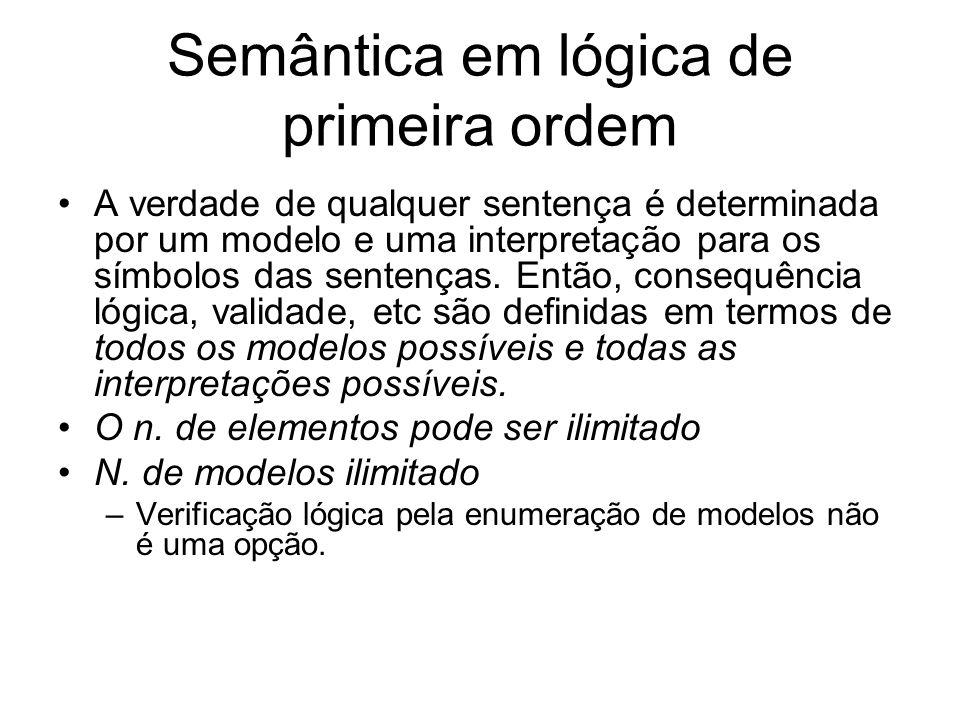 Semântica em lógica de primeira ordem