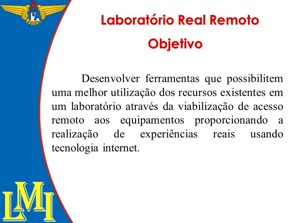 Laboratório Real Remoto