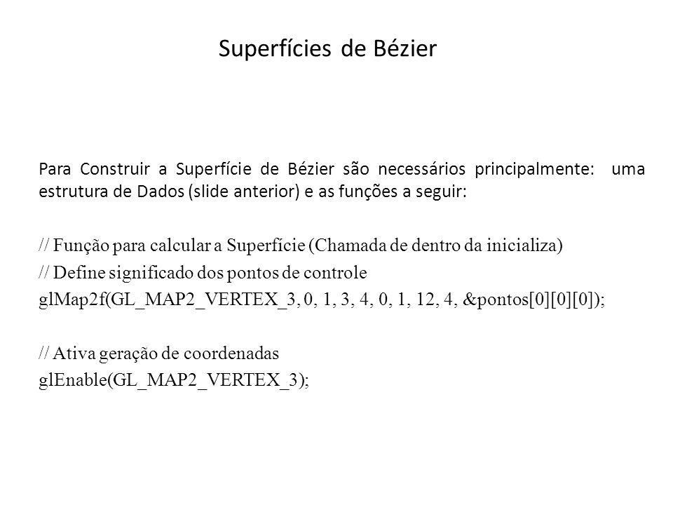 Superfícies de Bézier