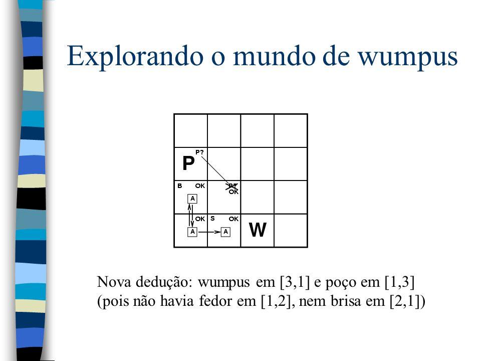 Explorando o mundo de wumpus