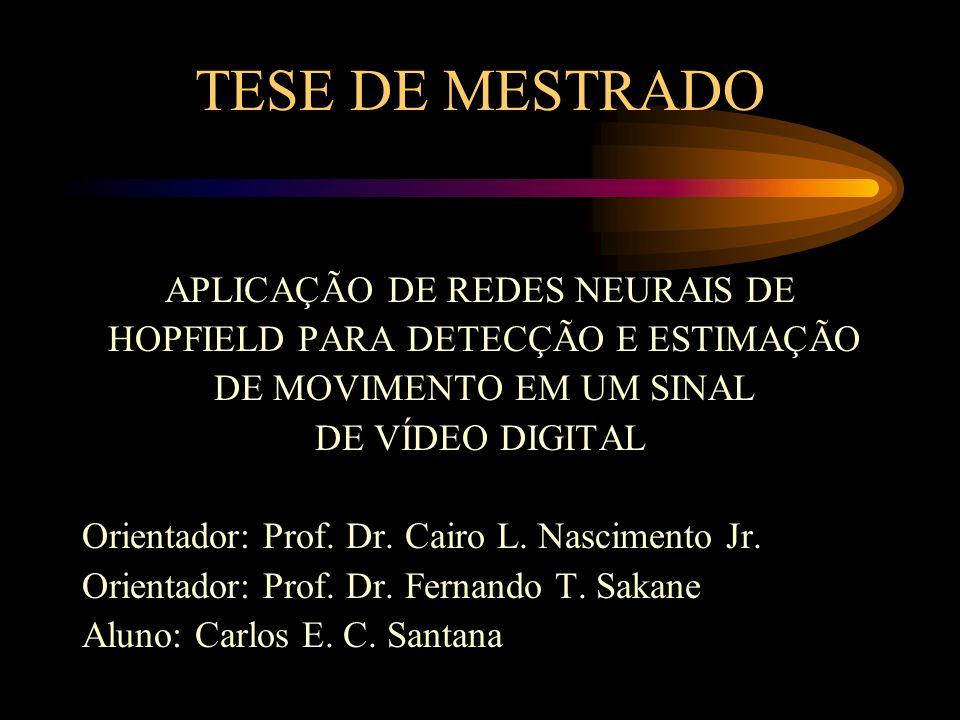 TESE DE MESTRADO APLICAÇÃO DE REDES NEURAIS DE
