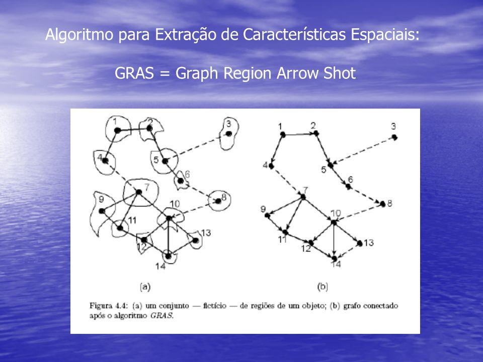 Algoritmo para Extração de Características Espaciais:
