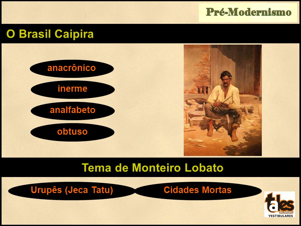 Tema de Monteiro Lobato