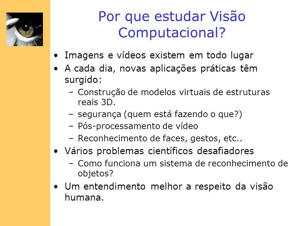 Por que estudar Visão Computacional