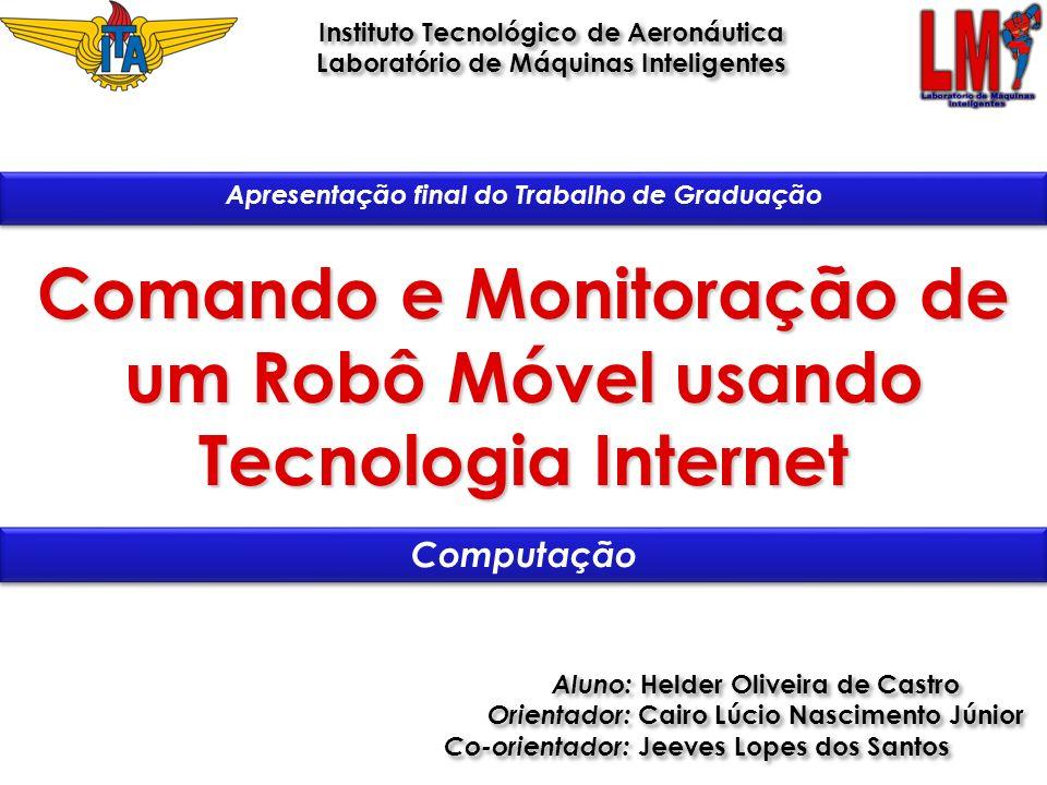 Comando e Monitoração de um Robô Móvel usando Tecnologia Internet