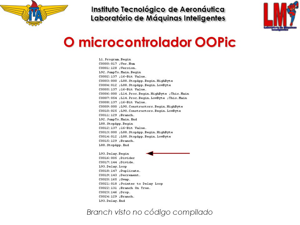 O microcontrolador OOPic