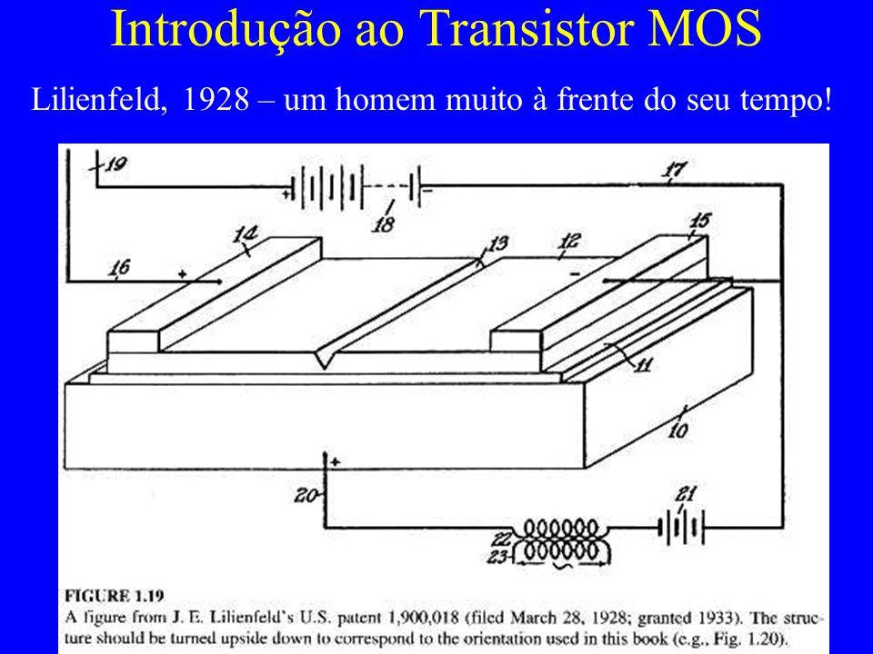Introdução ao Transistor MOS