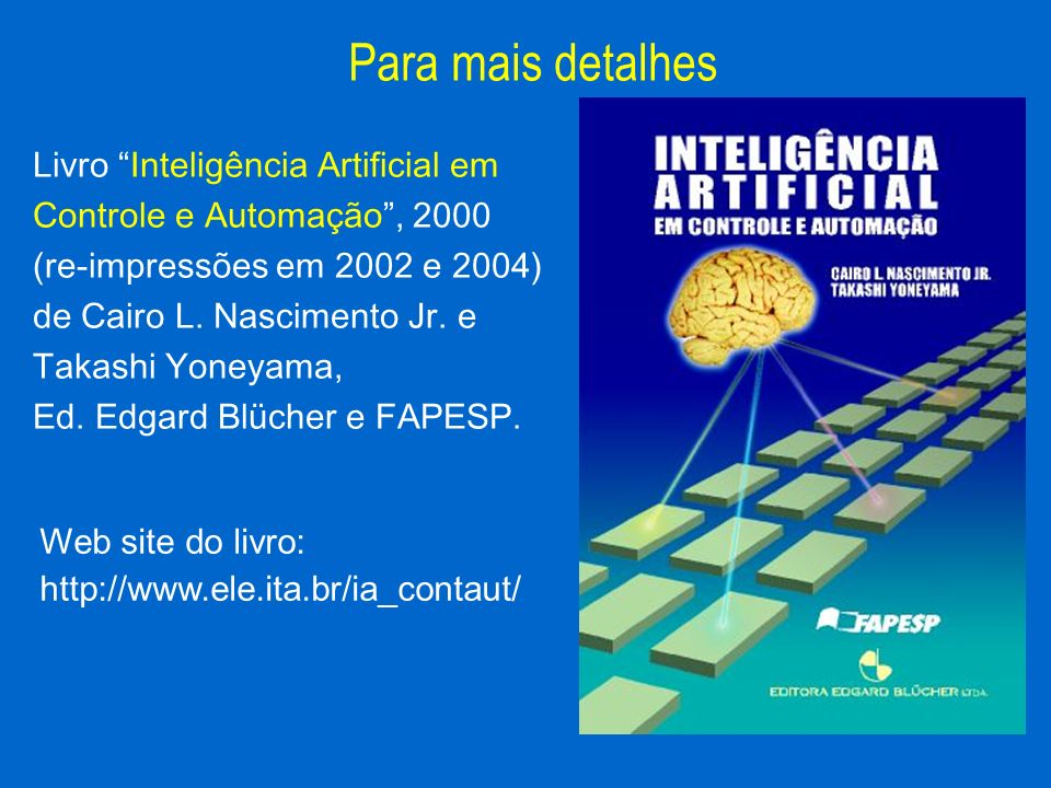 Para mais detalhes Livro Inteligência Artificial em