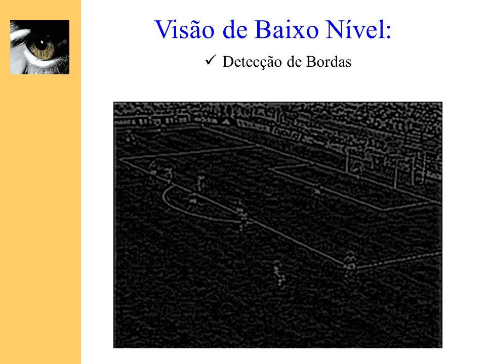 Visão de Baixo Nível: Detecção de Bordas