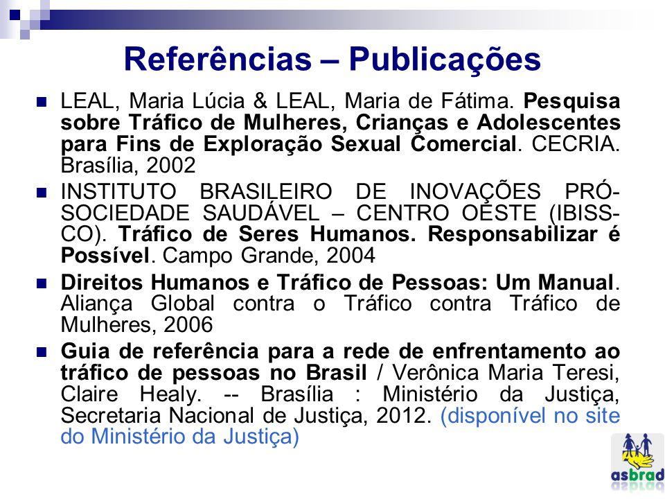 Referências – Publicações