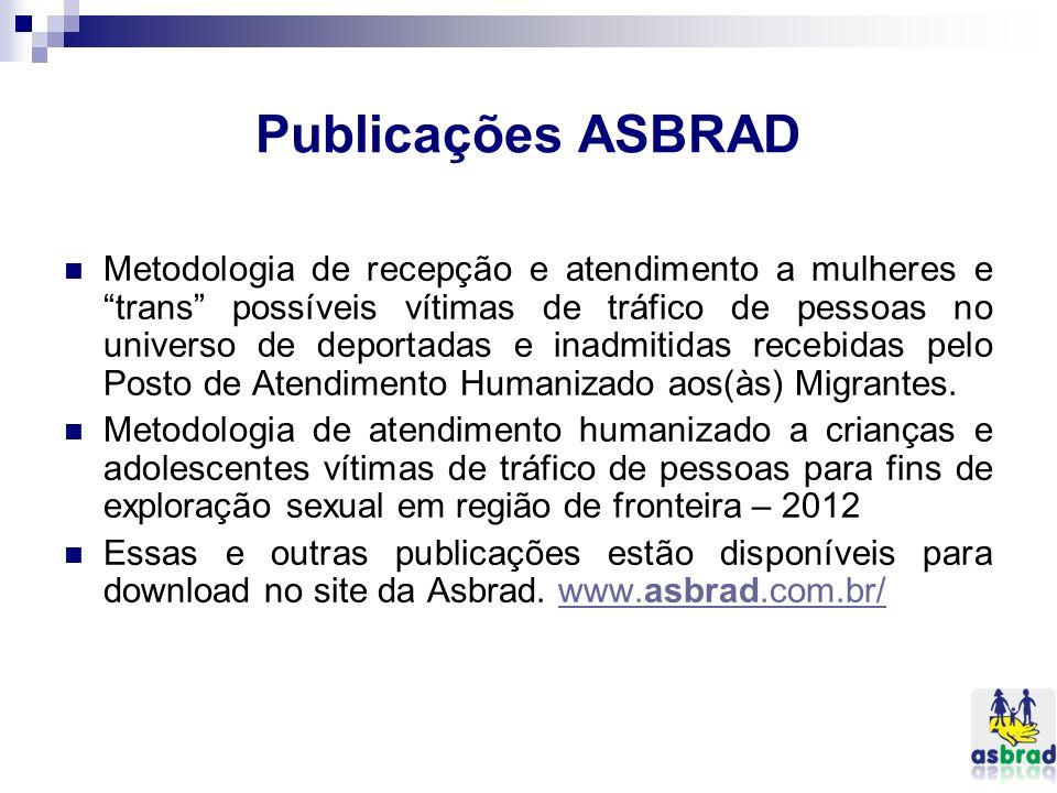 Publicações ASBRAD