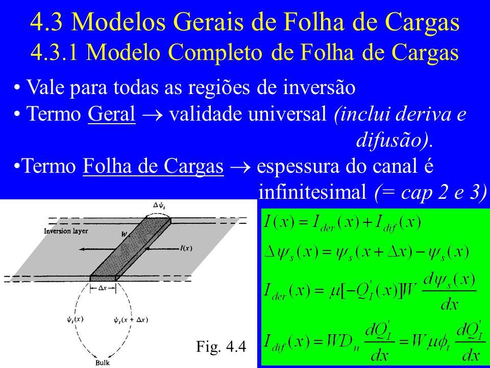 4. 3 Modelos Gerais de Folha de Cargas 4. 3