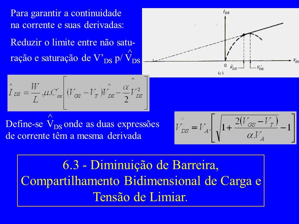 Para garantir a continuidade na corrente e suas derivadas:
