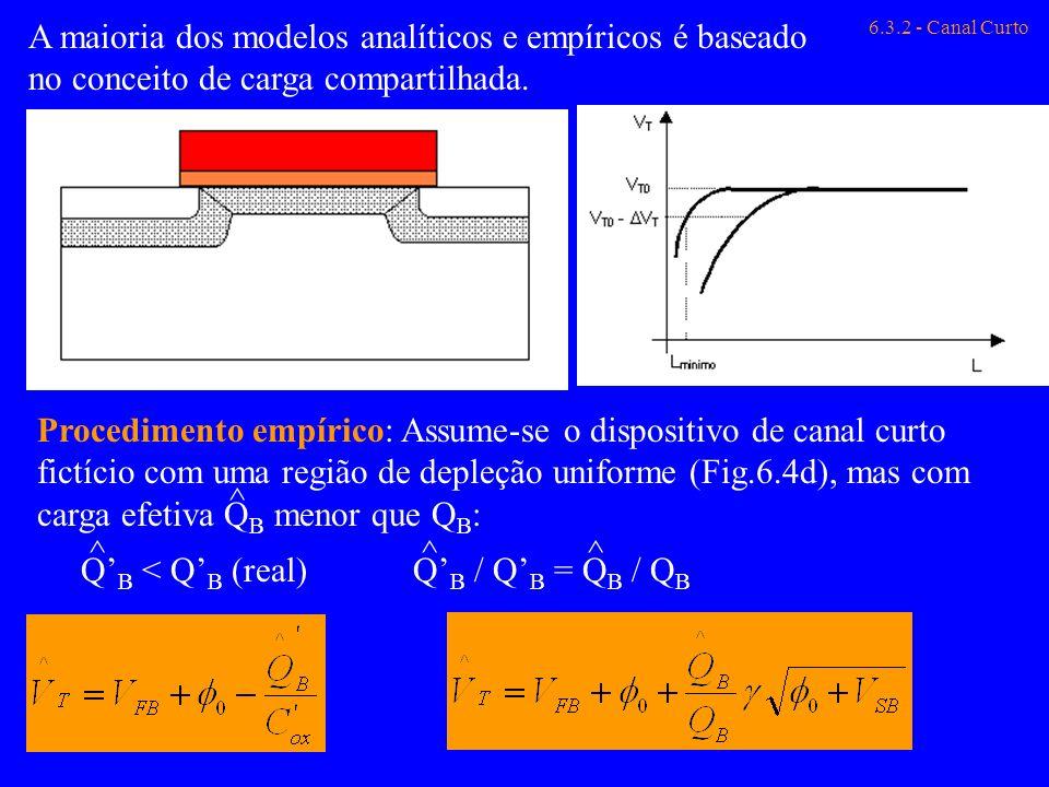 A maioria dos modelos analíticos e empíricos é baseado no conceito de carga compartilhada.