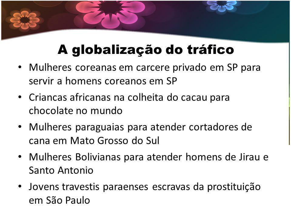 A globalização do tráfico