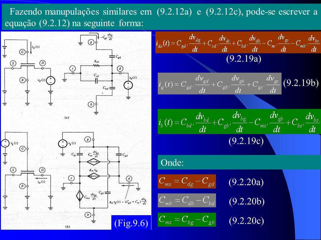 Fazendo manupulações similares em (9. 2. 12a) e (9. 2