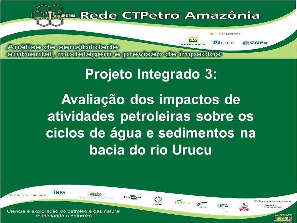 Projeto Integrado 3: Avaliação dos impactos de atividades petroleiras sobre os ciclos de água e sedimentos na bacia do rio Urucu.