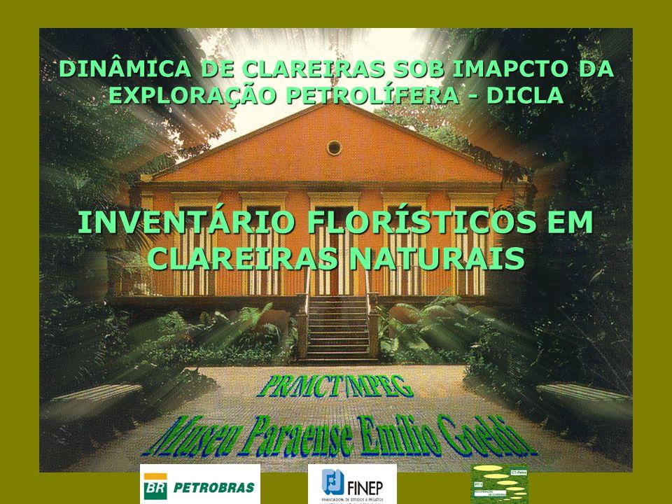 INVENTÁRIO FLORÍSTICOS EM CLAREIRAS NATURAIS