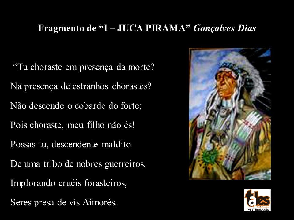 Fragmento de I – JUCA PIRAMA Gonçalves Dias