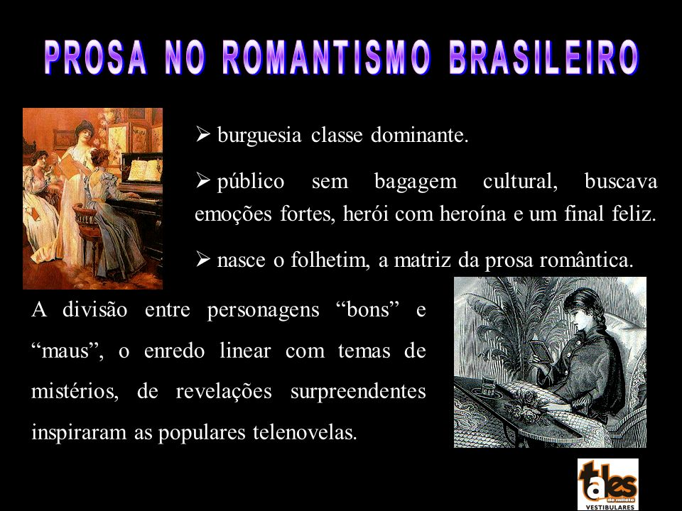PROSA NO ROMANTISMO BRASILEIRO