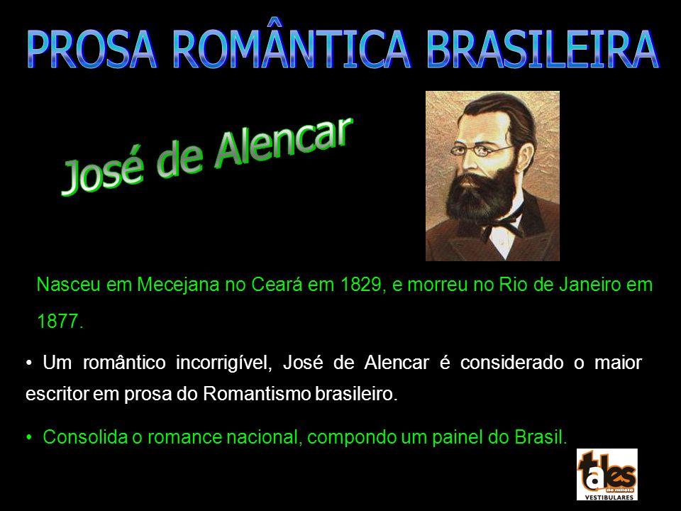 PROSA ROMÂNTICA BRASILEIRA