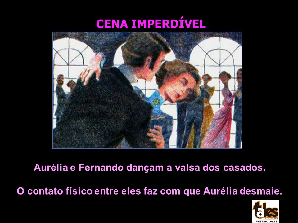 CENA IMPERDÍVEL Aurélia e Fernando dançam a valsa dos casados.