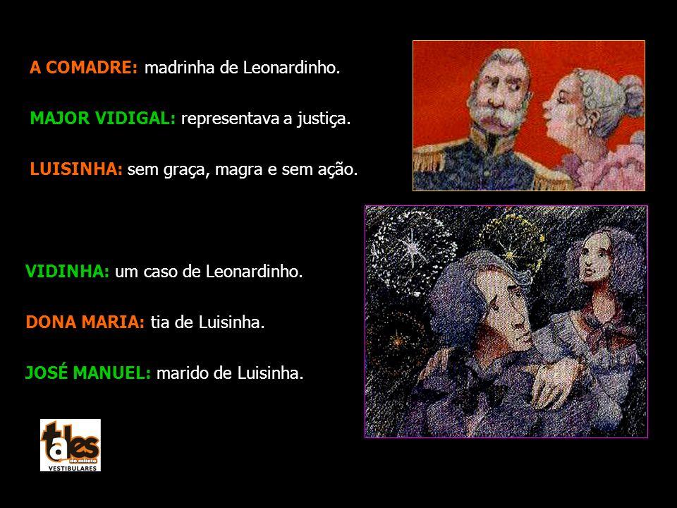 A COMADRE: madrinha de Leonardinho.