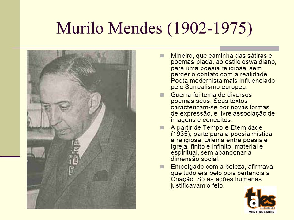 Murilo Mendes (1902-1975)