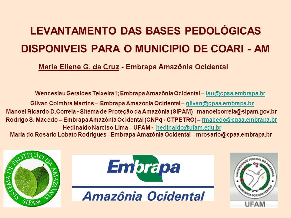 Maria Eliene G. da Cruz - Embrapa Amazônia Ocidental