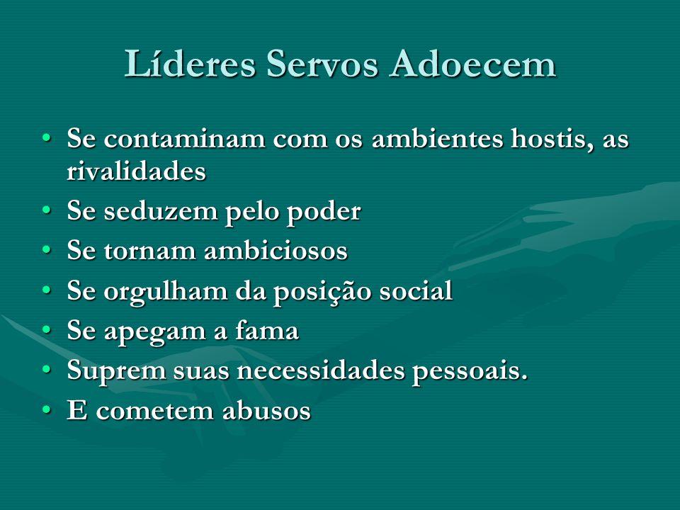 Líderes Servos Adoecem