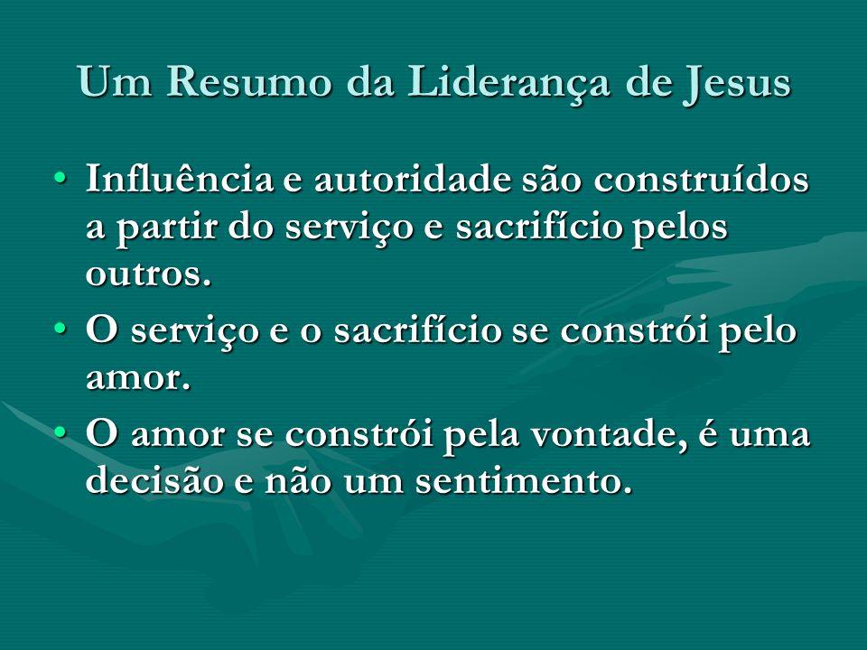 Um Resumo da Liderança de Jesus