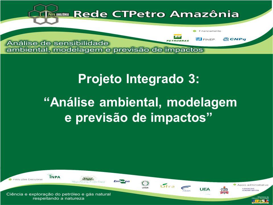 Análise ambiental, modelagem e previsão de impactos