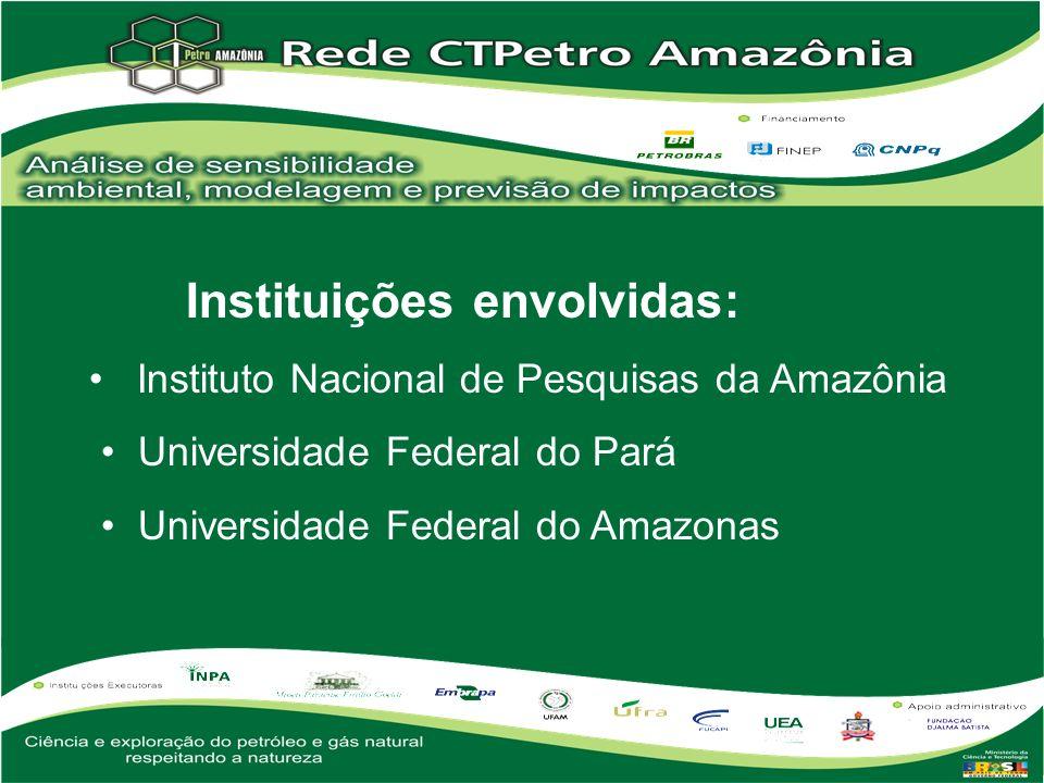 Instituições envolvidas: