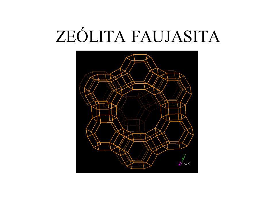 ZEÓLITA FAUJASITA