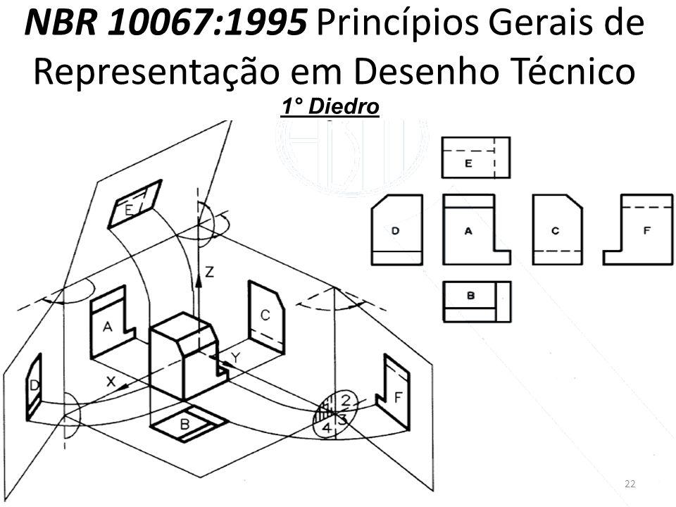 NBR 10067:1995 Princípios Gerais de Representação em Desenho Técnico