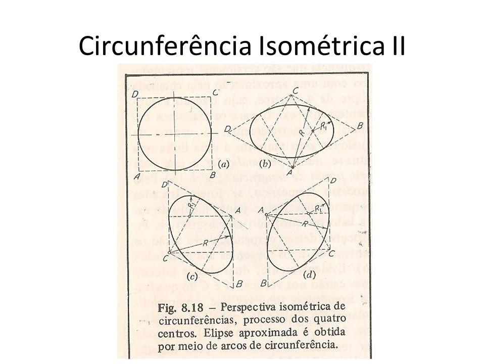 Circunferência Isométrica II