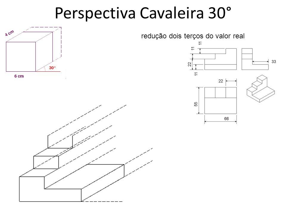 Perspectiva Cavaleira 30°