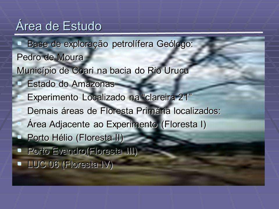 Área de Estudo Base de exploração petrolífera Geólogo: Pedro de Moura